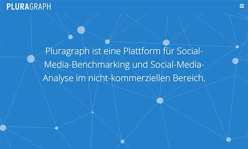 Screenshot Pluragraph.de