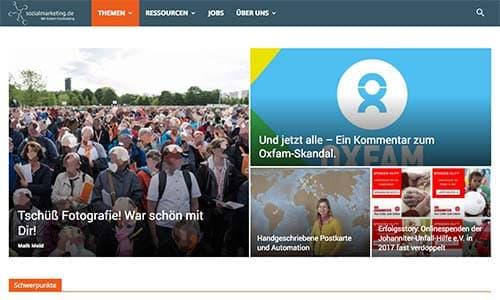 Screenshot sozialmarketing.de
