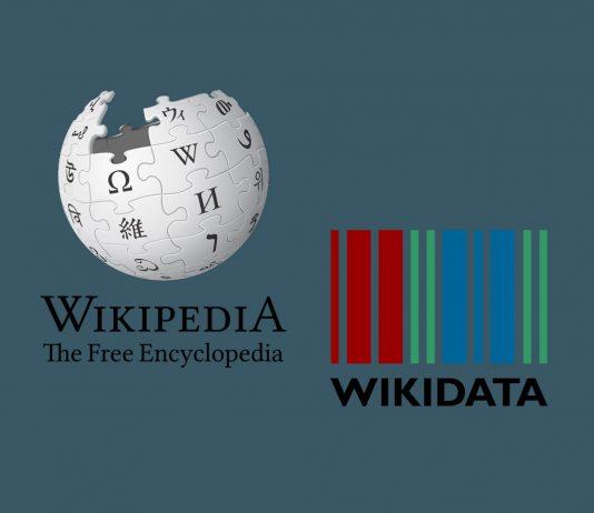 Logos von Wikipedia und Wikidata